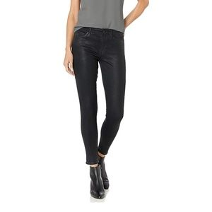 Lucky Brand MidRise Ava Skinny Jean Black Coated